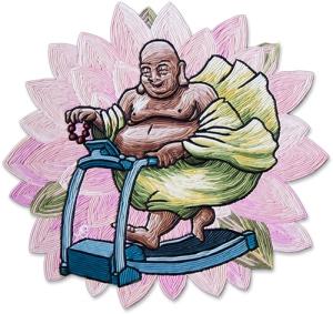 Buddha treadmill
